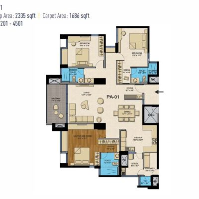 cntc-presidential-tower-3-bhk-floor-plan